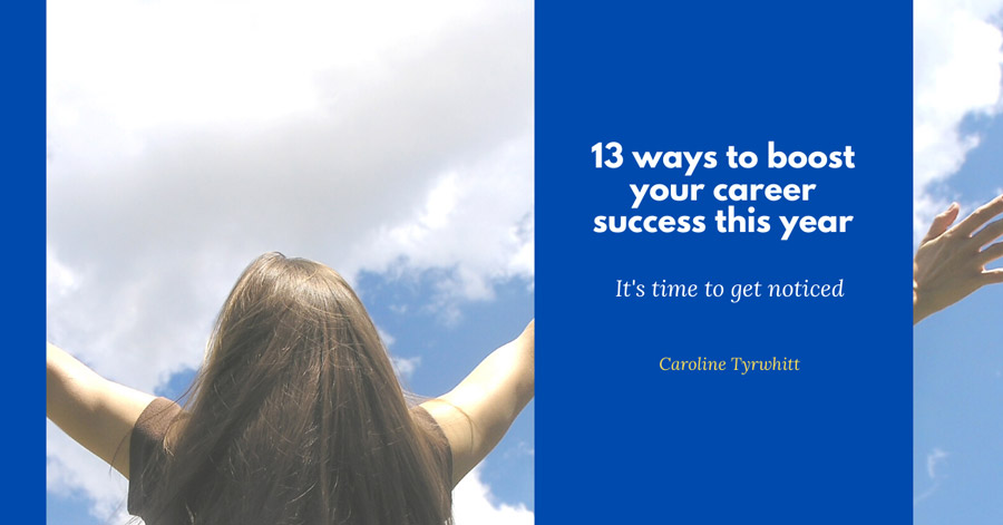 13 ways to boost your career success this year Banner