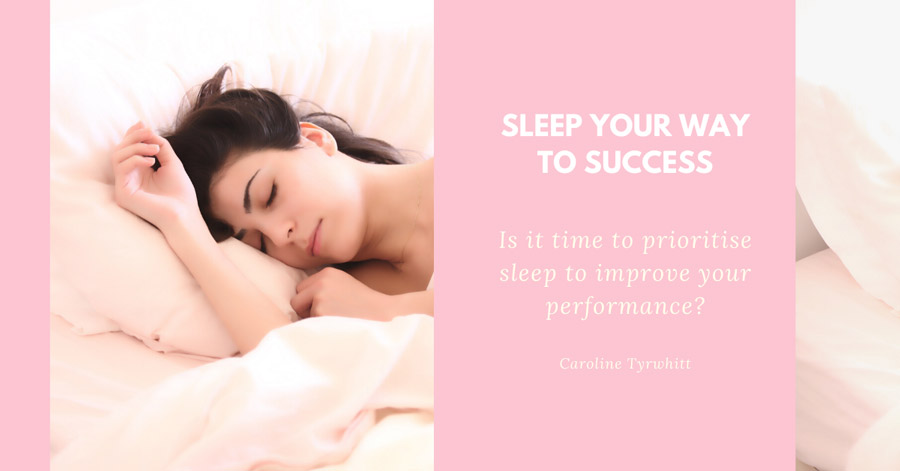 Sleep your way to success Banner