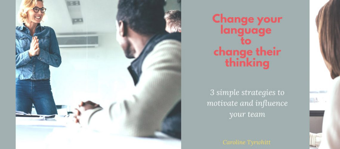 Banner Change your language to change their thinking
