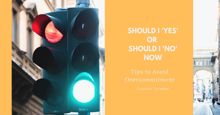 Should I 'Yes' or Should I 'No' Now? Tips to Avoid the Yes Trap Banner